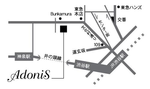 渋谷の隠れ家 BAR AdoniS